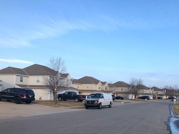 The quiet and safe neighborhood of Pumpkin Ridge Il