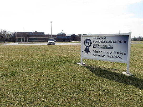 Fantastic middle school right down the road from our office. Moreland Middle School is top rated