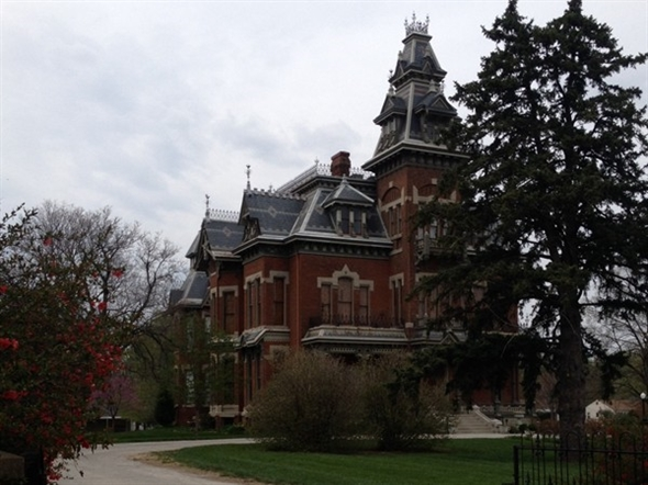 South east view of Vaile Mansion