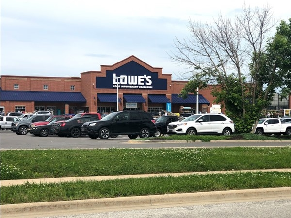 Lowe's Home Improvement shop nearby Brookfield