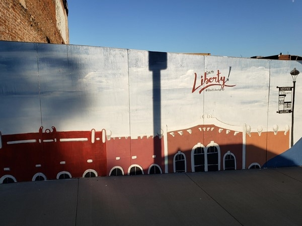 Downtown Liberty has multiple murals which are great for photo opportunities