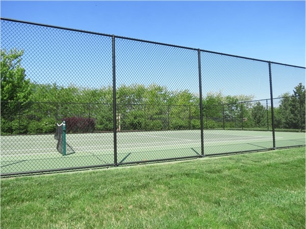 Tennis court at The Reserve Amenity Center