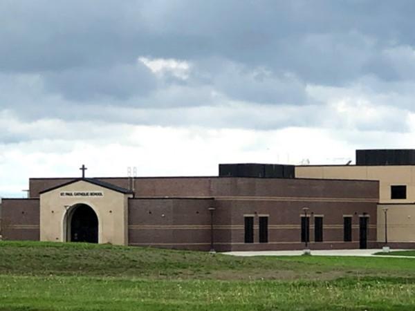 St. Paul Catholic School nearby