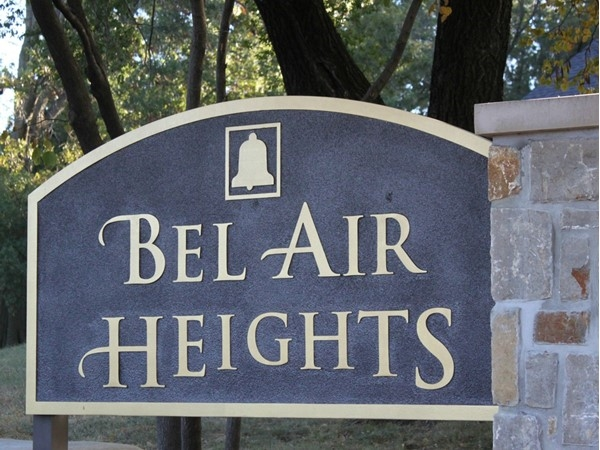Bel Air Heights is a desirable place to live