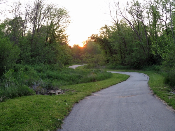 Lakes at Oakmont is surrounded by trails and the Prairie Creek Greenway, a lovely place for a walk.