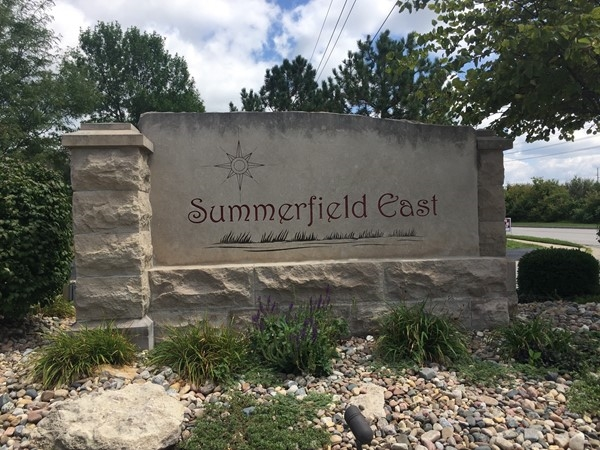 Entrance to Summerfield East