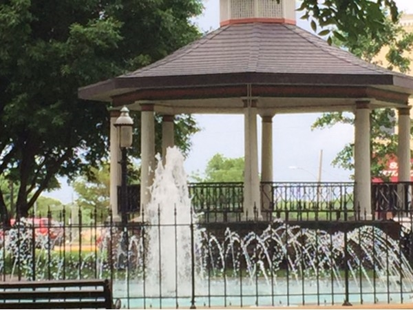 Great fountains located in Historic Downtown Paola