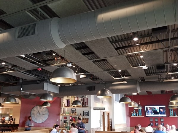 Inside of Q 39 in Overland Park, just off College Blvd