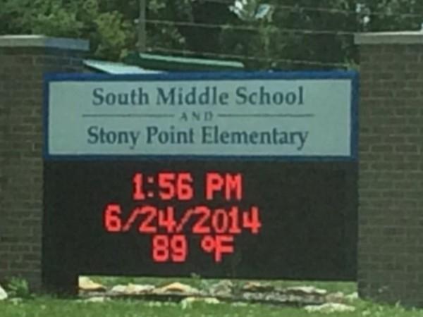 Stoney Point Elementary School in Grain Valley