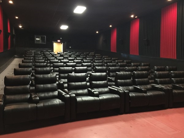 B & B Movie Theatre lets you recline while you watch