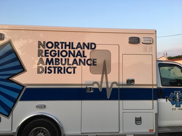Northland Regional Abulance on hand for emergencies at the Platte County Fair