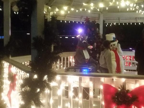 Fun at the Grain Valley Christmas Tree Lighting