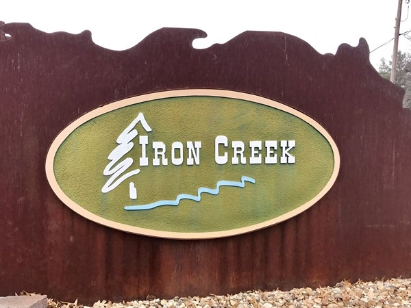 Welcome to Iron Creek subdivision
