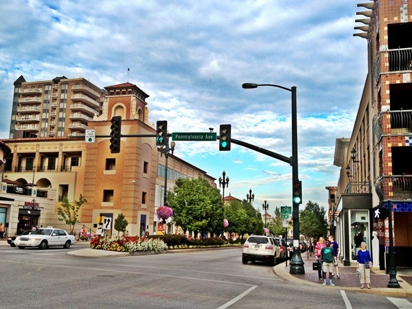 The Plaza in Kansas City is one of the city's many elite destinations for shopping and dining
