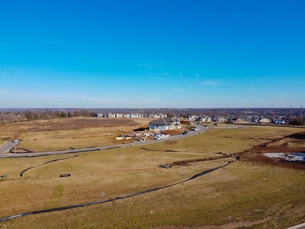 Mission Ranch in Overland Park.  December 2019