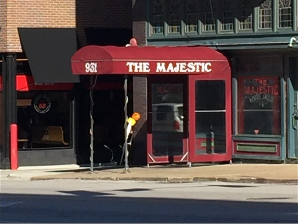 The Majestic is a good place to have dinner