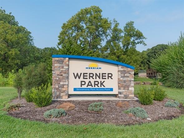 Werner Park in Merriam - just behind the Merriam Marketplace