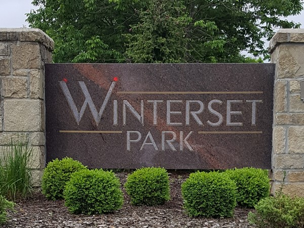 Welcome to Winterset Park in Lee's Summit