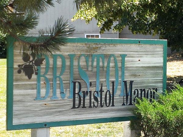 Subdivision  marker for Bristol Manor