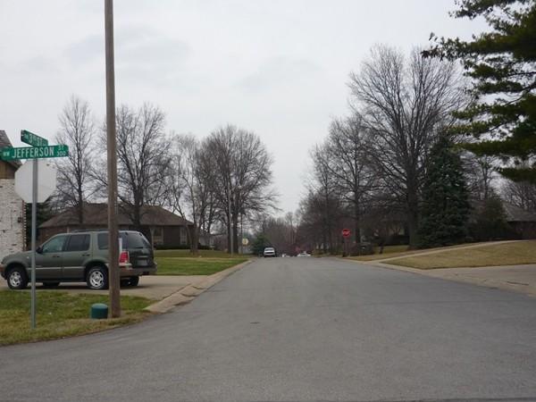 Northwest 3rd Street from Northwest Jefferson Street