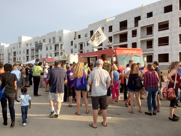 The Food Truck Frenzy is a popular event in Lenexa