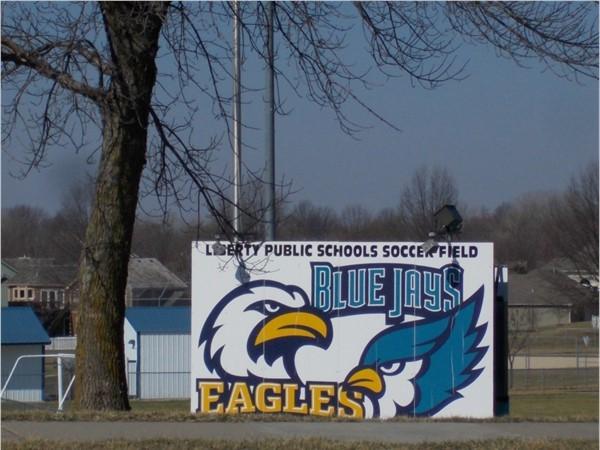 Liberty Public Schools Soccer Field.