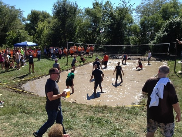 Jesse James Festival Mud Volleyball