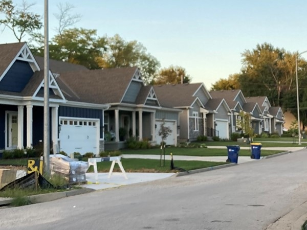 Riverwood community by Hearthside Homes in Liberty, Missouri