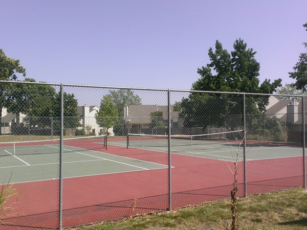 Tennis Courts for residents at The Trails