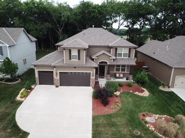 A beautiful home at Eagle Creek Subdivision, in Lee's Summit