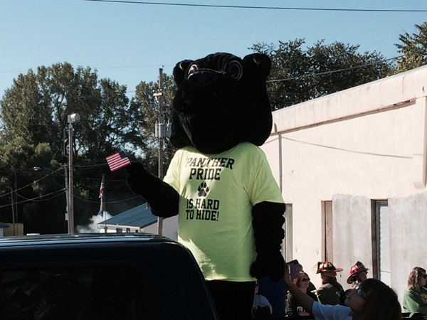 North Platte Mascot at the Pioneer Days Parade