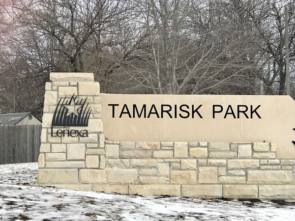 Tamarisk Park entrance
