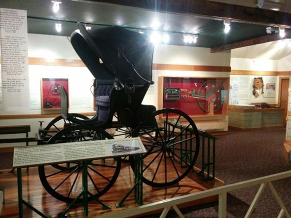 Carriage at Watkins Museum
