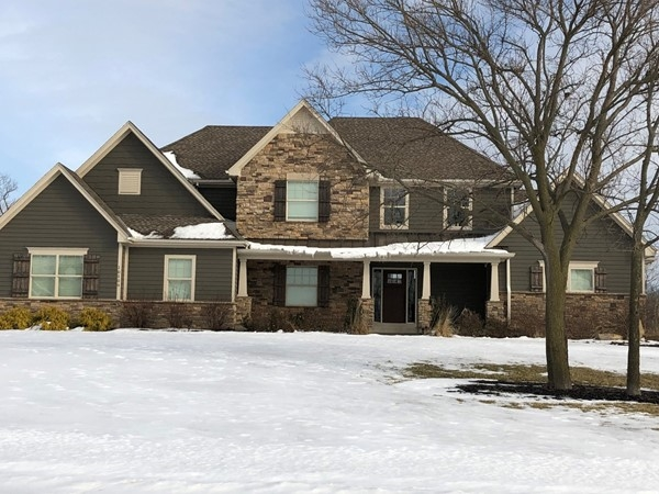 Lovely two story home with pool (not pictured)