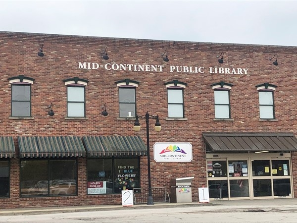 The Mid-Continent Public Library started right in Independence and has branched out in MO