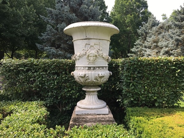 Not just the City of Fountains, but antique statuary is abundant in many neighborhoods as well