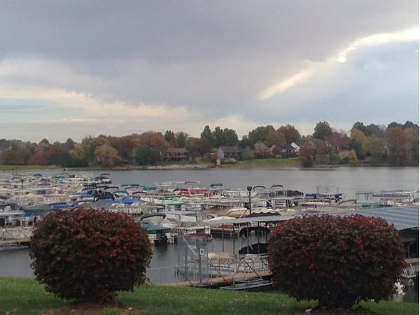 Boat marina at Lakewood