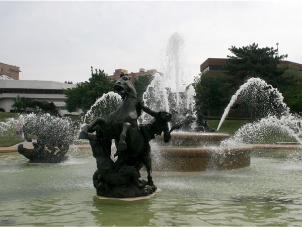 Fountain on the Plaza