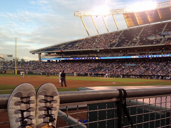 "Baseball at the ""K"" is a terrific way to spend a warm summer night."