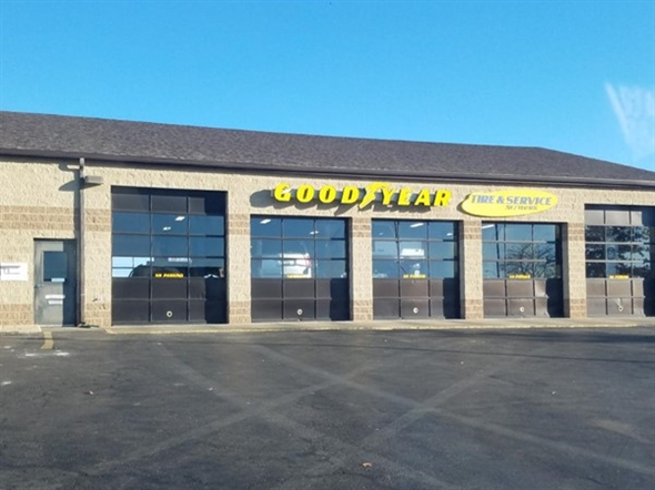 Good Year tire service located in Platte City