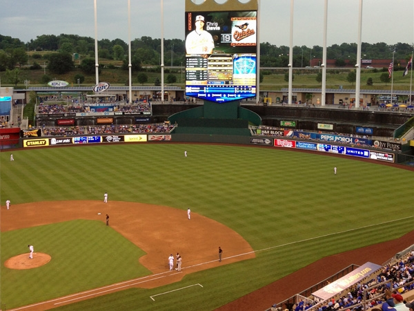 Kauffman Stadium - Come on out and support the Royals!