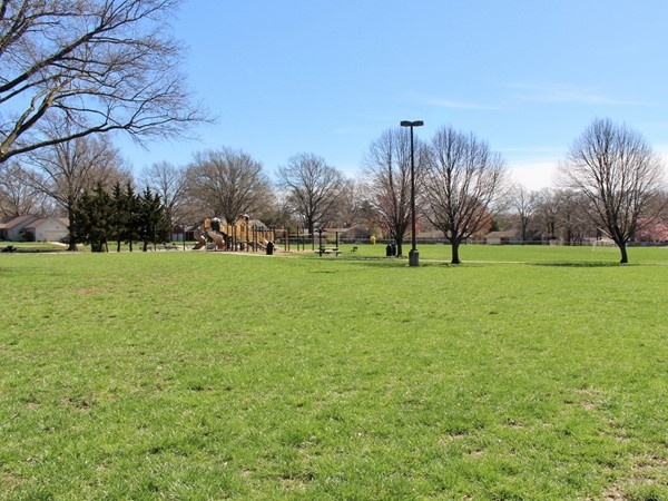 Mohawk Park located within Milhaven at 67th St and Lamar Ave