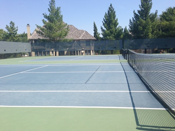 Tennis Courts available to all of those who live in the Riss Lake.