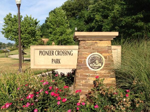 Pioneer Park in Shawnee, KS.