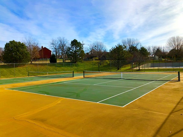 Wellington Park tennis courts