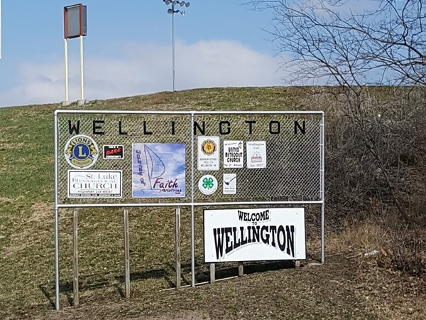Greetings from Wellington Missouri