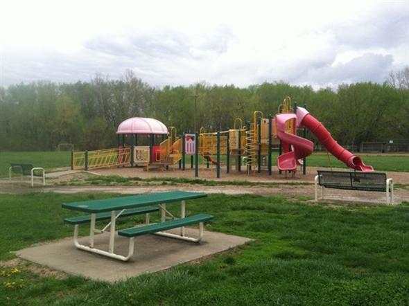 Children's playground at Heritage Park