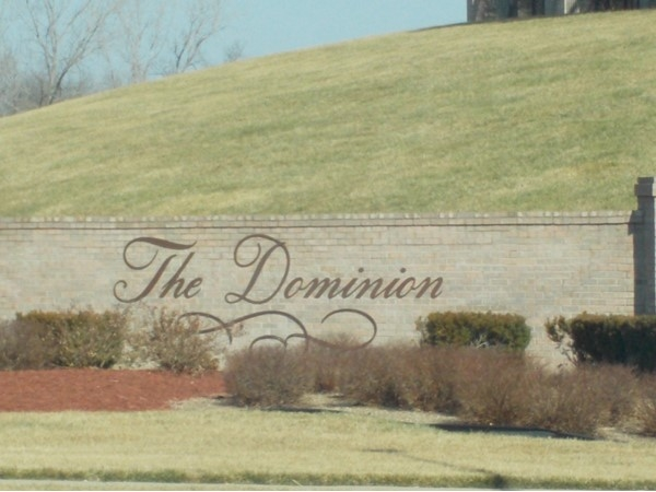 The Dominion community entrance