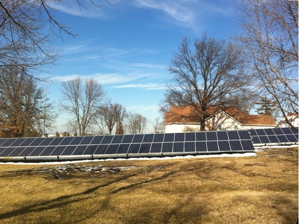 Immacolata Manor, a home for women with developmental disabilities in Liberty, is in on solar energy