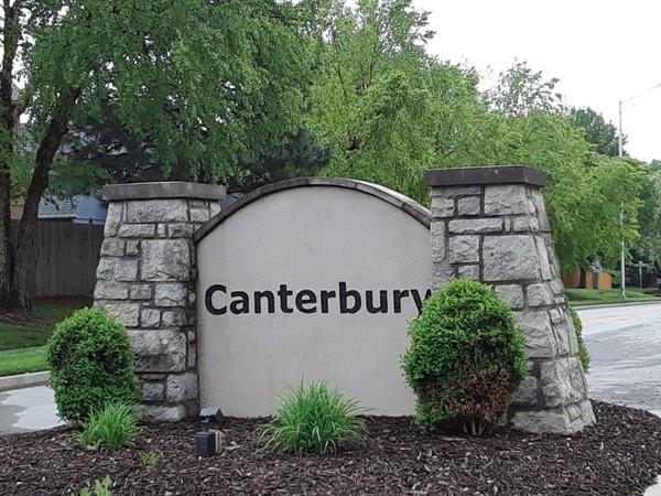 Canterbury has lots of affordable homes